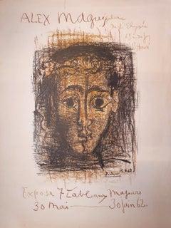 Alex Maguy - Original lithograph - Bloch #1298