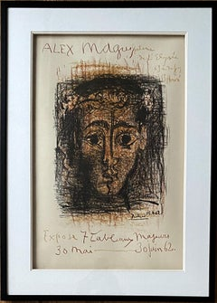 Alex Maguy - Original lithograph Signed in the Plate - Bloch #1298