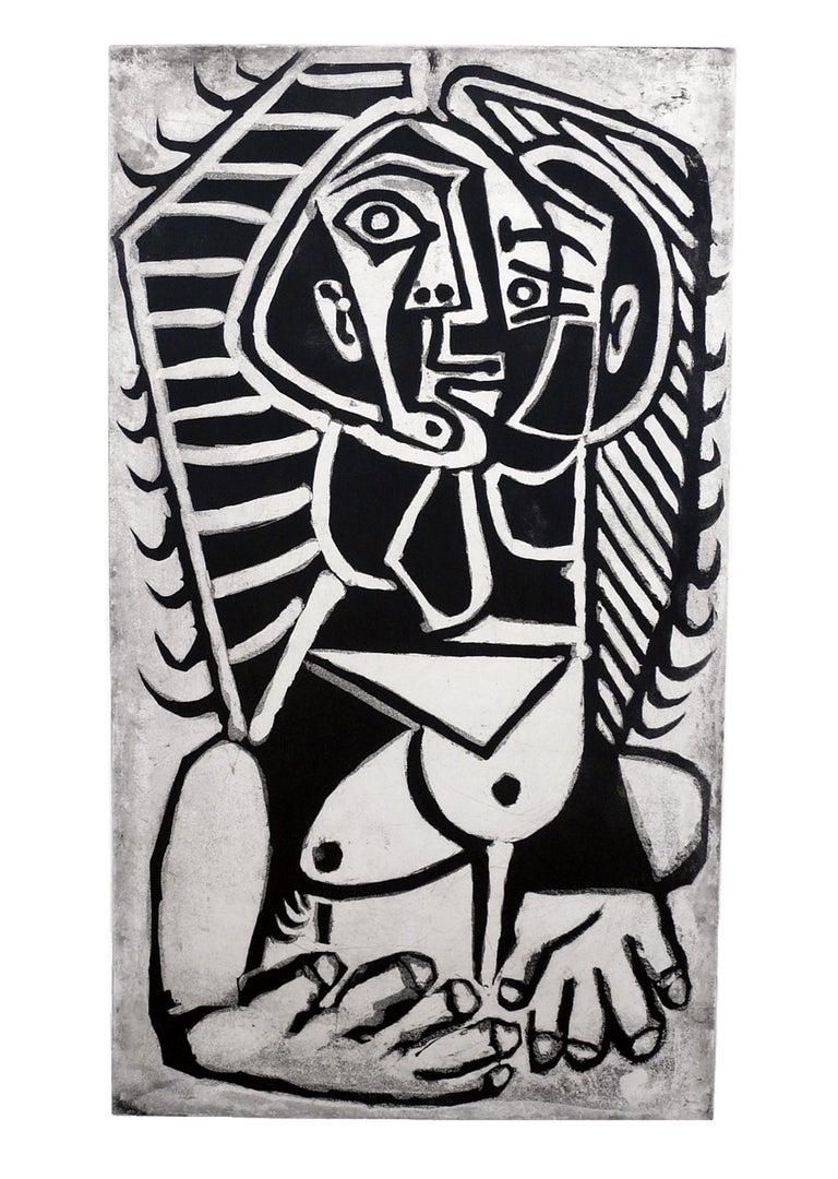 Pablo Picasso: L'Égyptienne Bloch746 - Print by Pablo Picasso