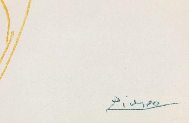 Ballet : The Dancer - Original Lithograph - Printed Signature #Ref. Bloch #767 For Sale 1