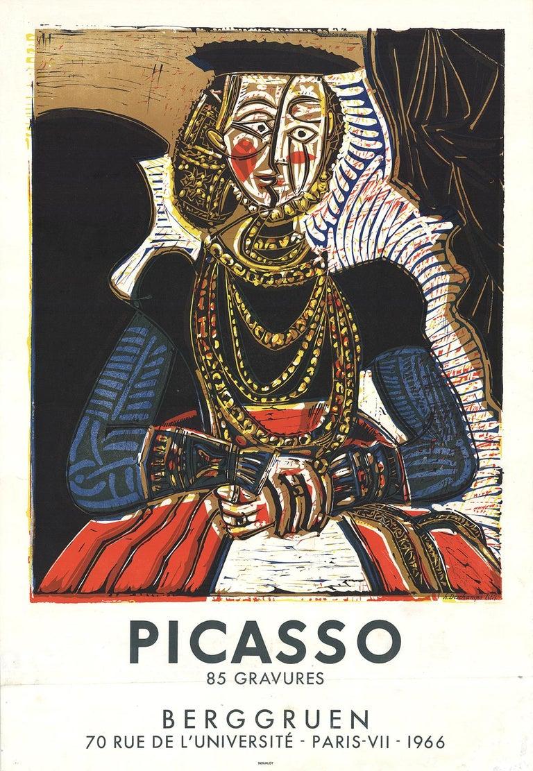 (after) Pablo Picasso Portrait Print - Berggruen, 85 Gravures