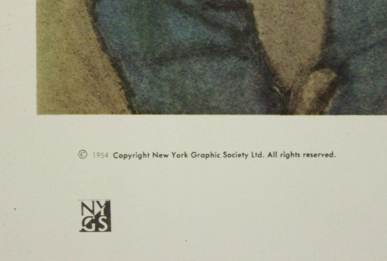Blue Boy-Poster. Copyright New York Graphic Society Ltd.  - Gray Portrait Print by Pablo Picasso