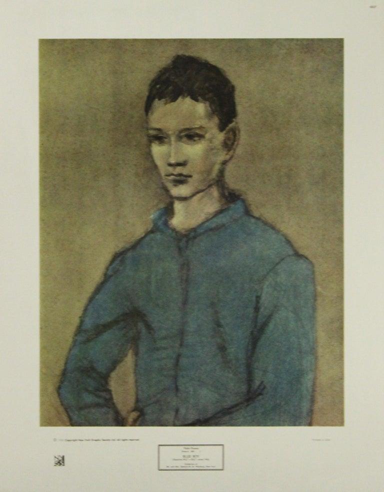 Pablo Picasso Portrait Print - Blue Boy-Poster. Copyright New York Graphic Society Ltd.