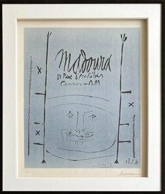 Madoura, 81, Rue d'An - Original Linocut Handsigned and Ltd /100 - (Bloch #1296)