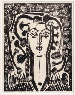 Buste Modern Style - Original Lithograph by Pablo Picasso - 1950s