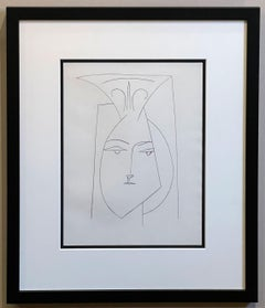 Head of a Woman with Mantilla (Plate I), from Carmen