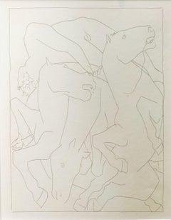 Chute de Phaéton avec le Char du Soleil - by Pablo Picasso
