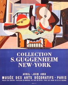 Collection Salomon S. Guggenheim New York by Pablo Picasso lithographic poster