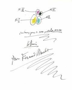 Composition - Original Lithograph after Pablo Picasso - 1982
