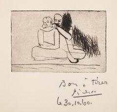 Couple au bord de l'eau Bloch 71