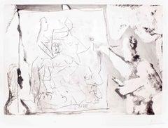 Dans l' Atelier - 1960s - Pablo Picasso - Aquatint - Modern