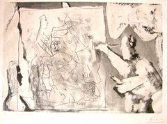 Dans L'Atelier - Original Etching by Pablo Picasso - 1965