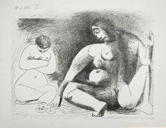 Deux Femmes Accroupies