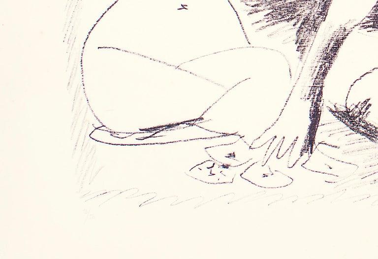 Deux Femmes Accroupies - Original Lithograph by Pablo Picasso - 1956 For Sale 3