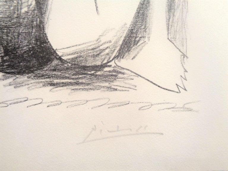 Deux Femmes Accroupies - Original Lithograph by Pablo Picasso - 1956 For Sale 4