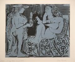 Deux Femmes avec un Vase a Fleurs