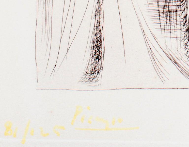 Deux Femmes Nues - Original Etching by Pablo Picasso - 1930 For Sale 1