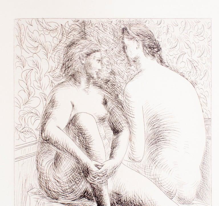 Deux Femmes Nues - Original Etching by Pablo Picasso - 1930 For Sale 3