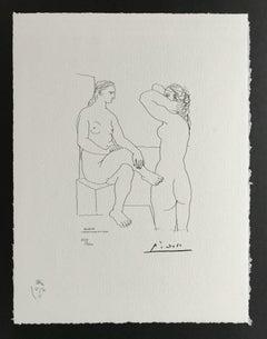 Deux Femmes (Suite Vollard Planche LXXX)