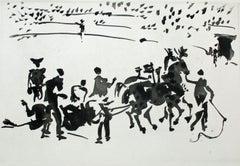 El Arrastre (Dragging of the Slain Bull)