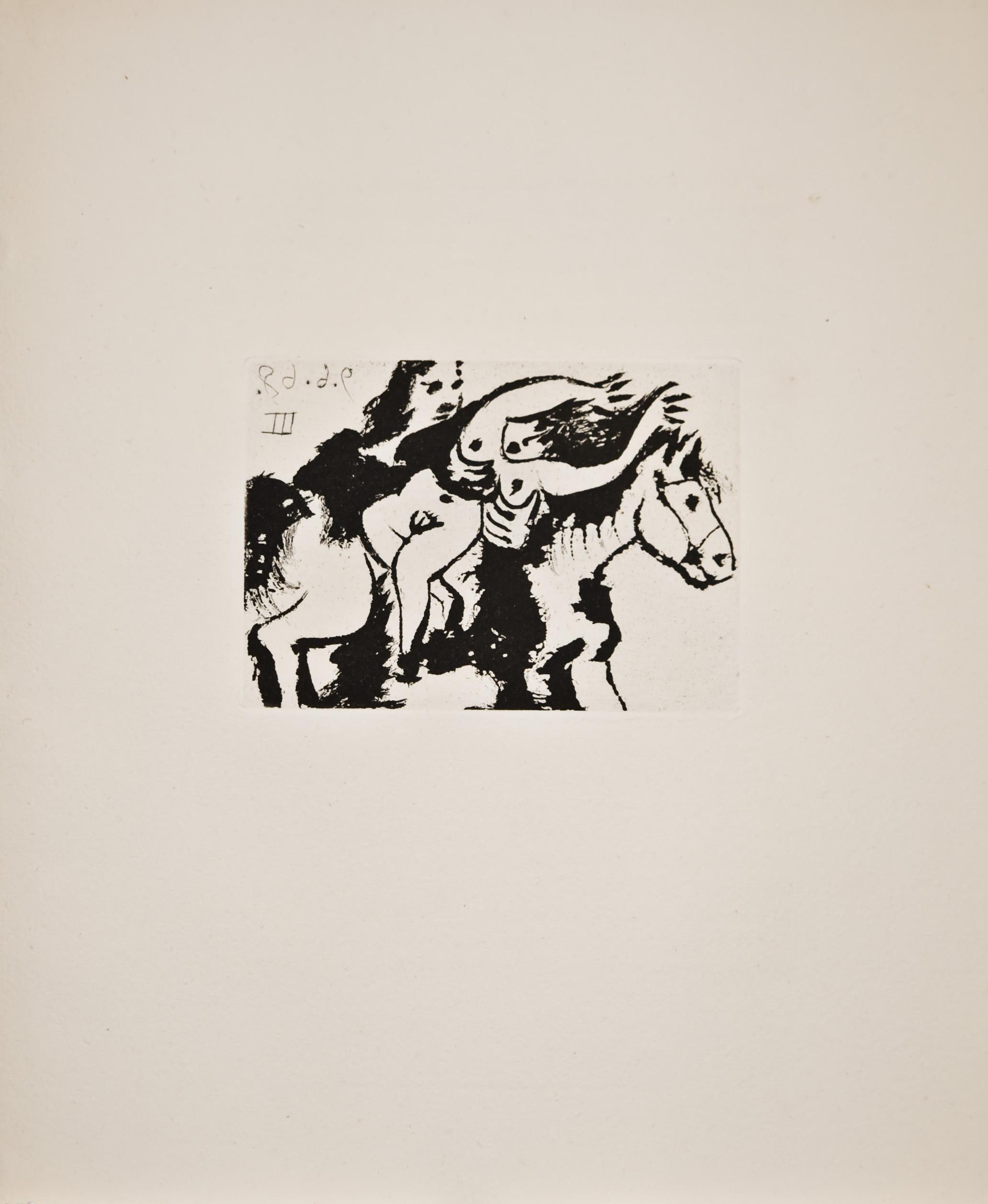 Enlèvement, à Cheval (Bloch 1628)