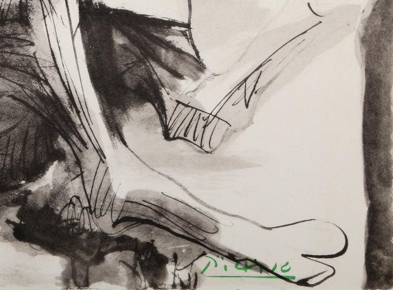 Etude pour l'Homme au Mouton - Print by Pablo Picasso