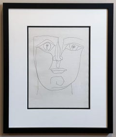 Face with Two Images in the Eyes (Plate XXXVII), from Carmen