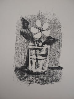 Flowers in a Glass - Original lithograph - Mourlot #98