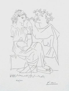 Flute Player And Girl With Tambourine (The Vollard Suite)