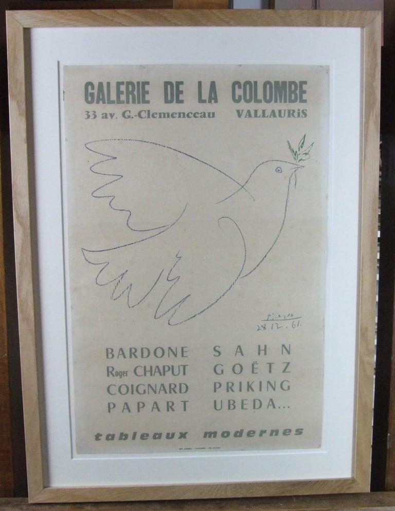Pablo Picasso Figurative Print - Galerie de la Colombe
