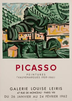 Galerie Louise Leiris, 1962, Pablo Picasso - exhibition poster