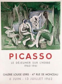 Galerie Louise Leiris, Le déjeuner sur l'herbe by Pablo Picasso