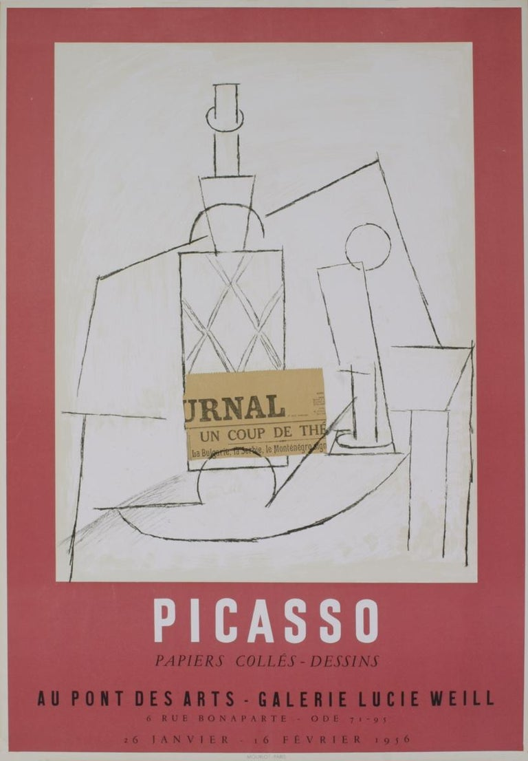 Galerie Lucie Weill - Print by Pablo Picasso