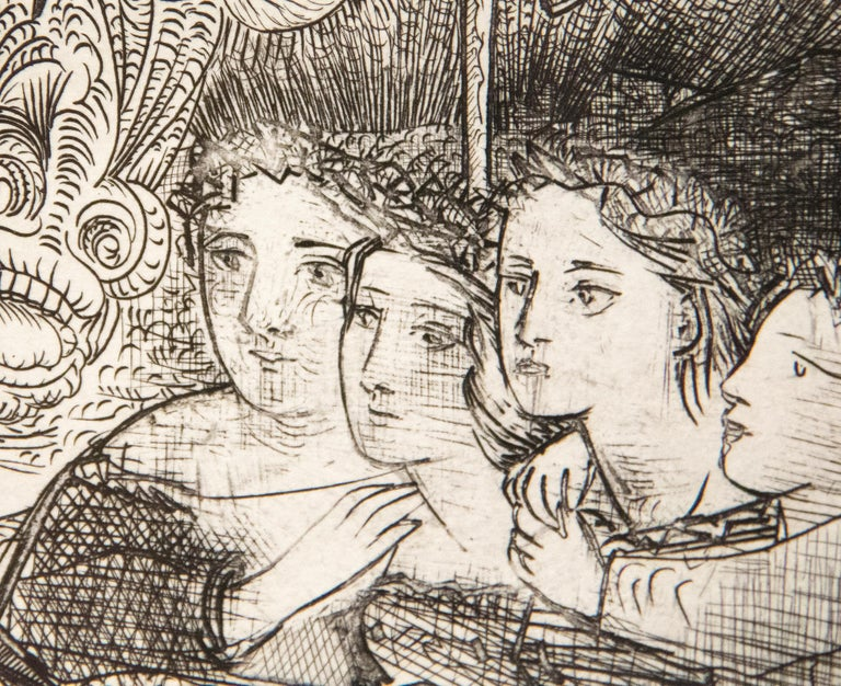A print by Pablo Picasso.