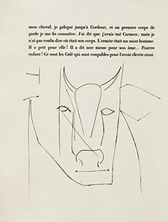 Head of a Bull (Plate XXXII)