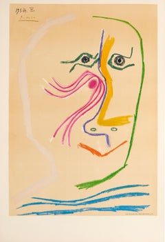 Hommage a Rene Char (Tribute to Rene Char - before lettering) by Pablo Picasso