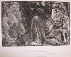 Homme et Femme (Man and Woman) - Original Etching by Pablo Picasso - 1968