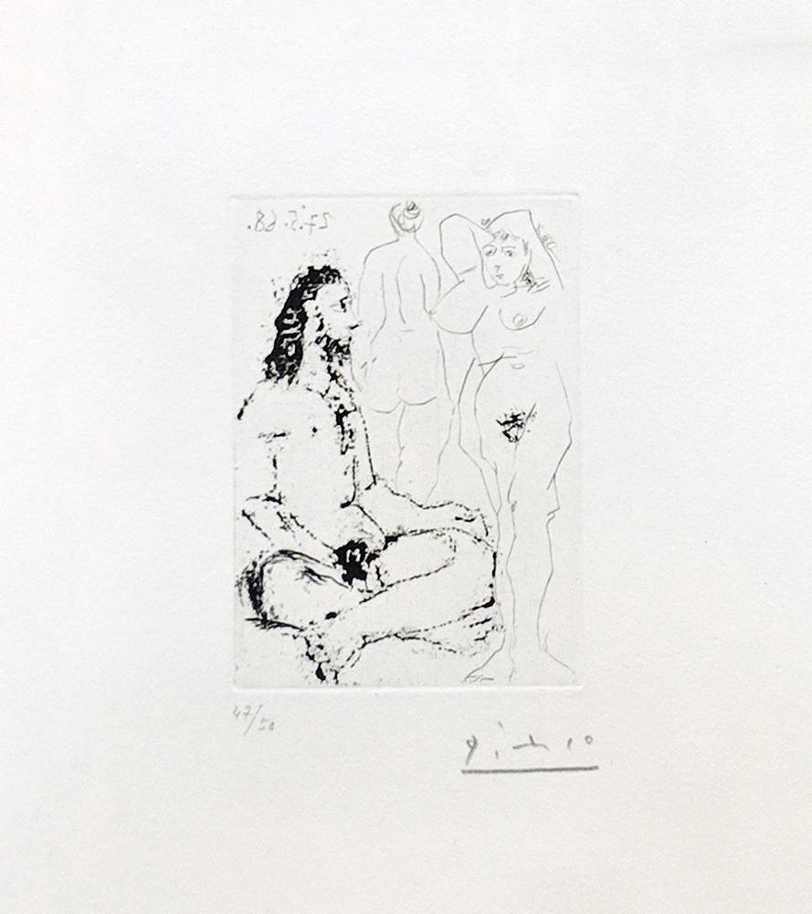 HOMME NU ASSIS EN TAILLEUR (BLOCH 1600)