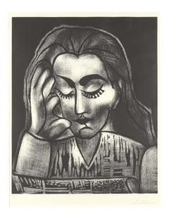 Pablo Picasso: Jacqueline lisant