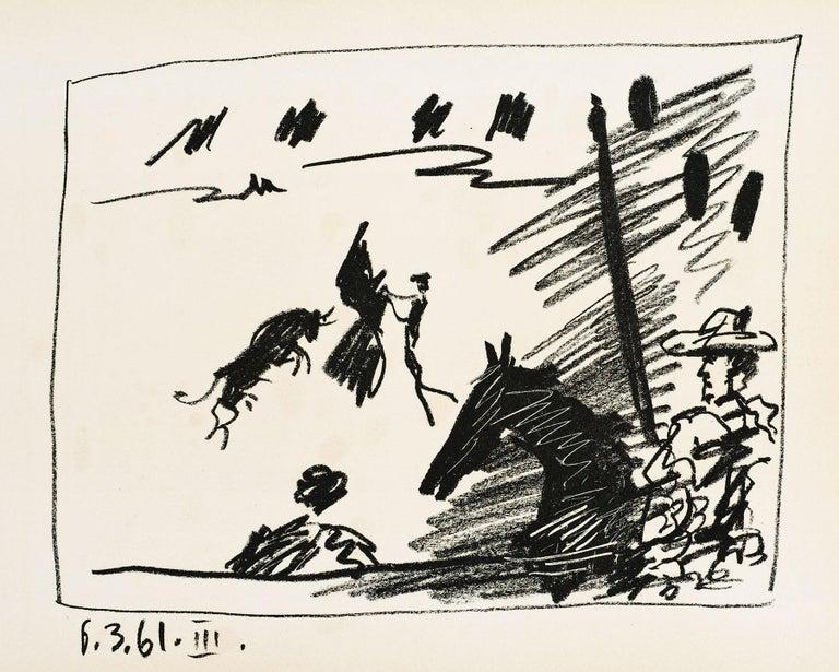 Pablo Picasso Abstract Print - Jeu de la Cap