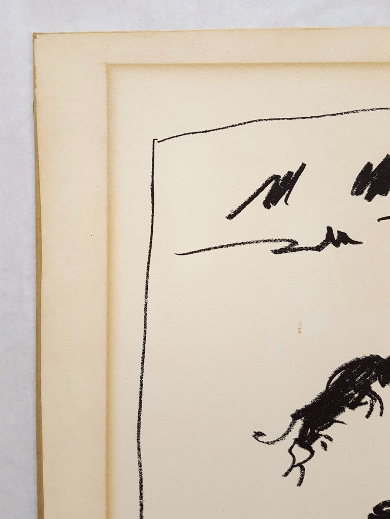 8e8a6bc8938 An original lithograph by Spanish artist Pablo Picasso (1881-1973) titled