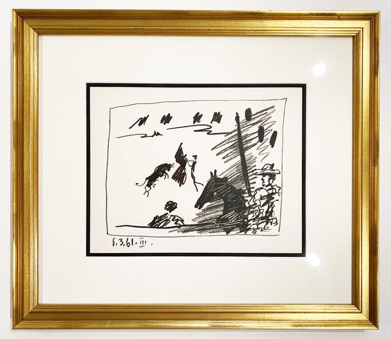 Pablo Picasso Figurative Print - Jeu de la Cape (III)