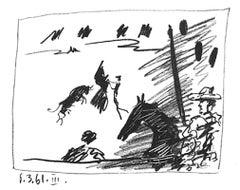 Jeu de la Cape, Pablo Picasso