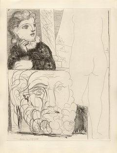 La Bonne dans l'Atelier de Sculpture (S.V. 71) Bloch 184