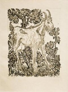 Pablo Picasso: La Chèvre  (The Goat) Bloch 335