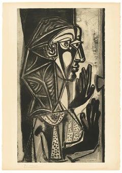 Pablo Picasso: La Femme a la Fenêtre (Bloch 695)