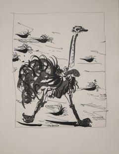 La Otruche (L'Autruche) (The  Ostrich)