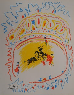 La Petite Corrida - Original lithograph (Bloch #839 / Mourlot #302)