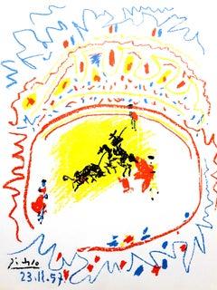 La Petite Corrida - original lithograph