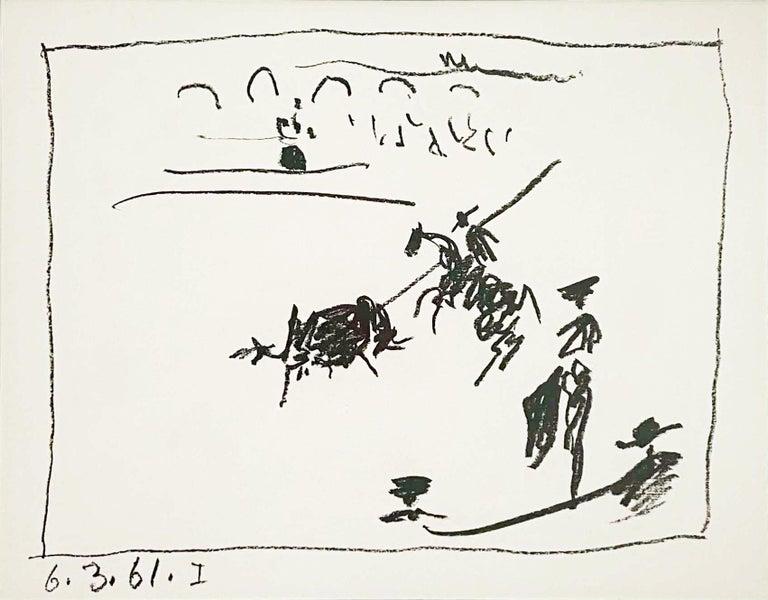 La Pique (I) - Print by Pablo Picasso